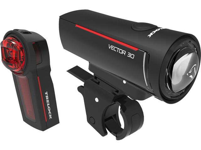 Trelock LS 300 I-GO Vector 30/LS 740 Vector Verlichtingsset